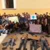 """Fridays for Future"" anche a Rossano. Flash mob degli studenti in difesa dell'ambiente"