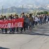 Corigliano, studenti in corteo contro la riforma della scuola