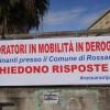 A Rossano e Corigliano scatta la protesta dei lavoratori in mobilità