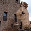 """Rocca Imperiale, al via costruzione Cavallo di Troia. """"Cercasi 49 eroi"""" per completare l'impresa"""