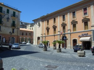 Il Municipio di Rossano
