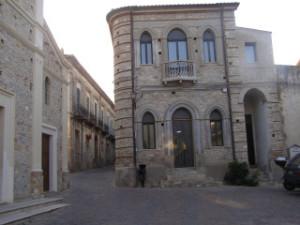 Scorcio del centro storico di Villapiana