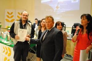 Giuseppe Iannarelli riceve Menzione d'Onore Rende 20.04.2013