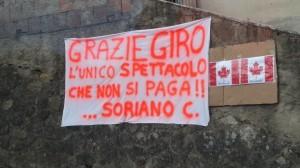 Striscione Policastro-Serra San Bruno
