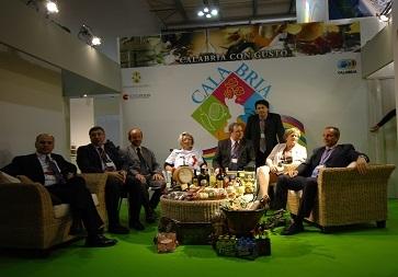Stand della Calabria a Tuttofood