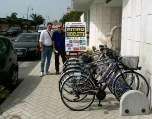 Ritiro biciclette melagrana trebisacce