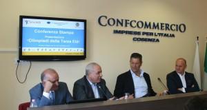 """Un momento della conferenza stampa di presentazione dell'evento """"Olimpiadi della terza età 2013"""""""