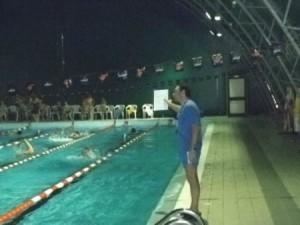 L'interno della piscina di Villapiana
