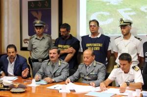 I militari spiegano nel dettaglio l'operazione Calipso