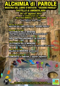 Il programma dell'evento (clicca per ingrandire)