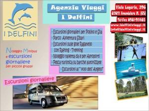 Con i DELFINI VIAGGI di Amendolara minibus a disposizione per gite con parenti o amici...