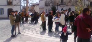 Un'immagine di repertorio di piazza Matteotti a Trebisacce