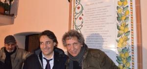 Aletti e Bennato nel corso dell'edizione 2012