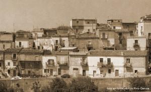 Trebisacce paese (foto archivio storico Giuseppe Genise)