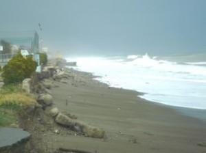 La mareggiata del 7 marzo 2013 a Trebisacce