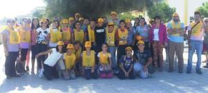 puliamo il mondo - alunni scuola media Roseto