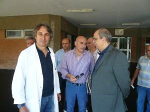 Antonio Addci (a sinistra e con il camice nella foto) è stato nominato responsabile per le problematiche di tipo igienico-organizzative del presidio ospedaliero di Trebisacce
