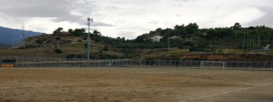 Il campo sportivo di Amendolara