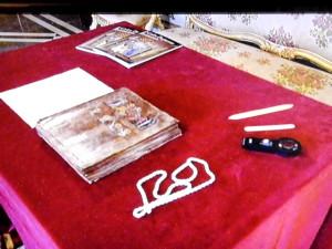 Il Codex esposto al Quirinale