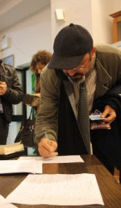 Pino Aprile firma la petizione europea contro le trivellazioni