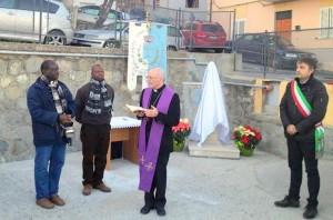 cerimonia col vescovo
