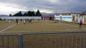 Luzzese-Trebisacce. Il gol del vantaggio dei locali