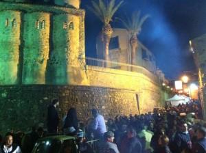 """Un momento dell'edizione dello scorso anno de """"la notte dei fuochi"""" (foto presa dal gruppo facebook """"la notte dei fuochi di San Marco"""")"""
