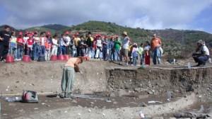 I lavori presso il Parco archeologico di Broglio