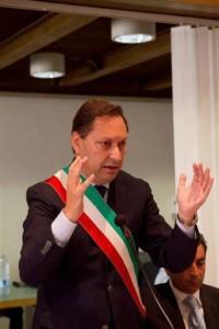 Il sindaco di Rossano, Giuseppe Antoniotti