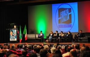 L'intervento di Antoniotti durante la convention di Forza Italia
