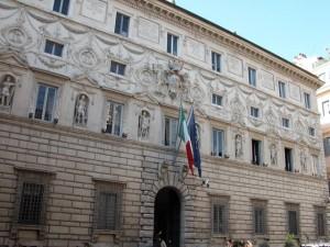 Palazzo Spada, sede del Consiglio di Stato a Roma