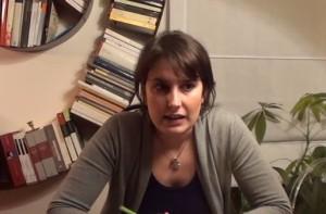 Laura Ferrara, candidata del movimento 5 stelle alle Europee nella circoscrizione meridionale