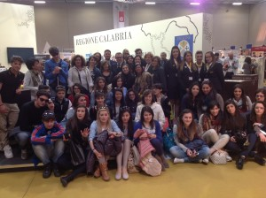 Studenti calabresi in visita alla Fiera del Libro di Torino 2014