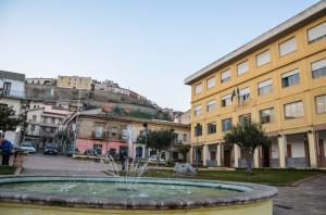 Piazza della Repubblica, con il Palazzo di Città