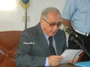 Il sindaco Giorgio Bonamassa