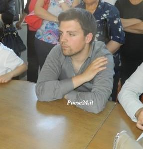 Il consigliere comunale Francesco Pucci