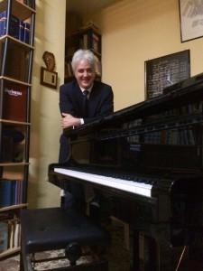 """Il maestro Leonardo Saraceni, fondatore della scuola di musica """"Francesco Cilea"""""""