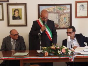 Il primo consiglio comunale, a Nocara, dopo le elezioni del 25 maggio scorso