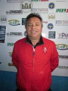 Il presidente del Corigliano calcio, Cosimo Elia