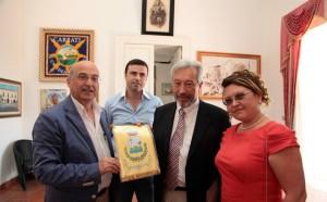 Il sindaco di Cariati Sero con il Console Generale della Federazione Russa in Italia  Vladimir Korotkov