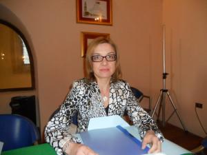 L'assessore alle Politiche Sociali di Morano Sonia Forte