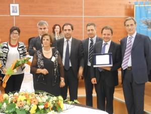 Fortunato Amarelli riceve il premio Mariano Turano 2014