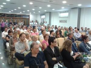 I partecipanti all'incontro di Zona Dem (Foto pagina facebook Zona Dem)