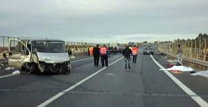 """Il viadotto """"Pagliara"""" sulla Ss 1056 nel comune di Trebisacce, spesso teatro di incidenti"""