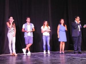 La Giuria premia le Scuole di danza (Foto Antonio Le Fossse)