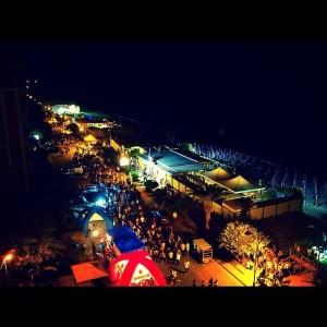 Un momento della Notte blu di Trebisacce (foto instawebgram)