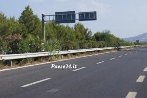 Il tratto della Ss 106 nel comune di Rocca dove è installato l'autovelox fisso