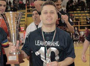 Il nuovo acquisto del Fabrizio calcio a 5, Leandro Alfonso, alias Leandrinho