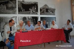 Da sinistra: Pagano, Laviola, Bonamassa, La Camera, Roma, Toscani, Diego