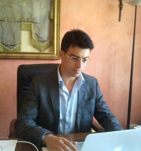 Gianluca Callipo, candidato del centrosinistra alle primarie per scegliere il candidato per le future elezioni regionali